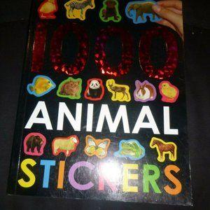 1000 Animal Stickers Children's Activity Book